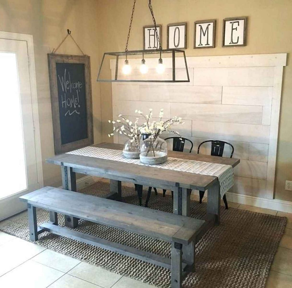70 Farmhouse Dining Room Lighting Decor Ideas And Design 34