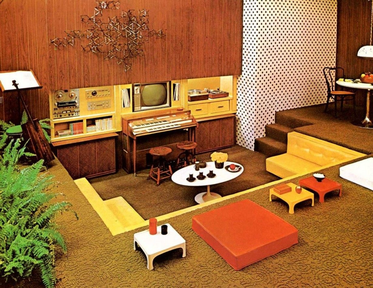 70s Living Room Ideas In 2019 Modern House Designs Pictures Layjao