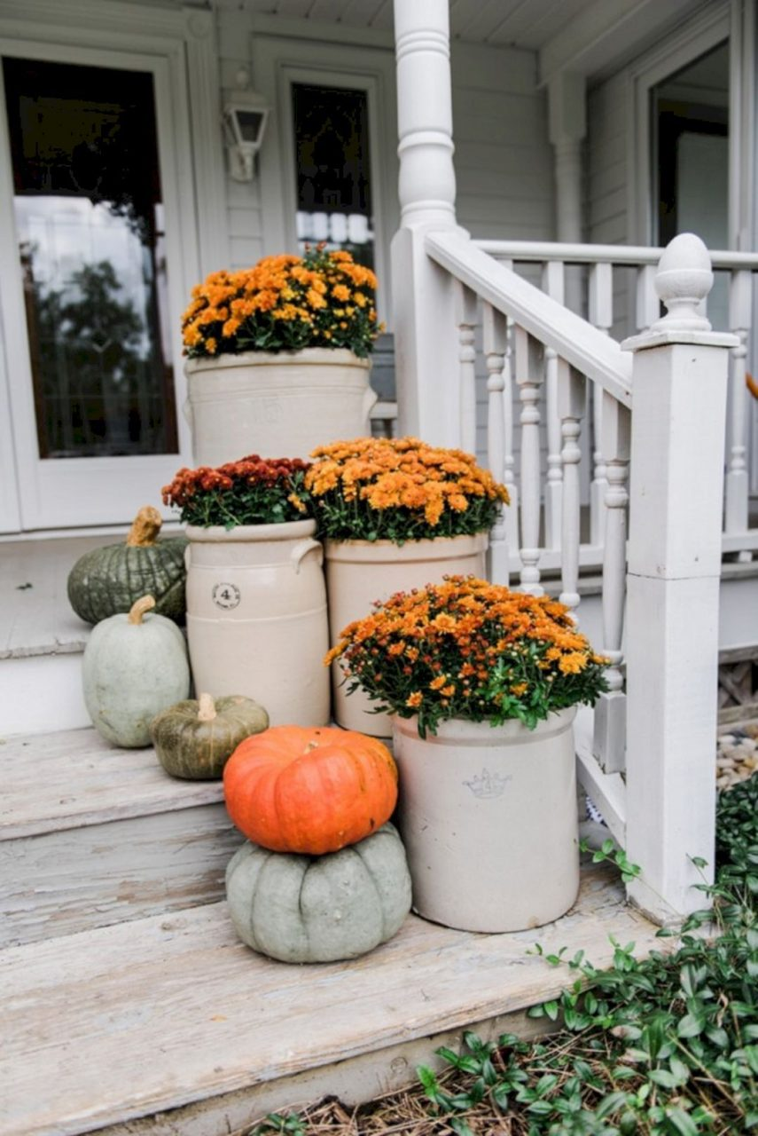75 Most Antique And Beautiful Farmhouse Front Porch Decoration Ideas