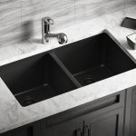 Black Double Kitchen Sink