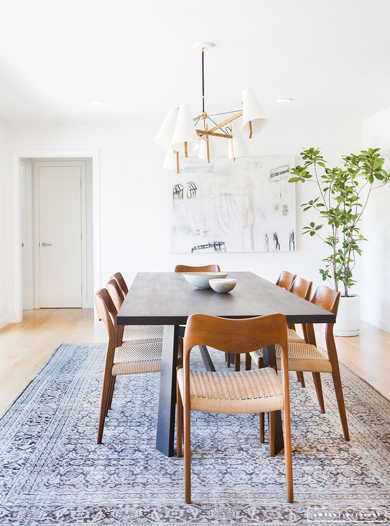 A Minimalist Mid Century Home Tour Home Inspo Minimalist Dining