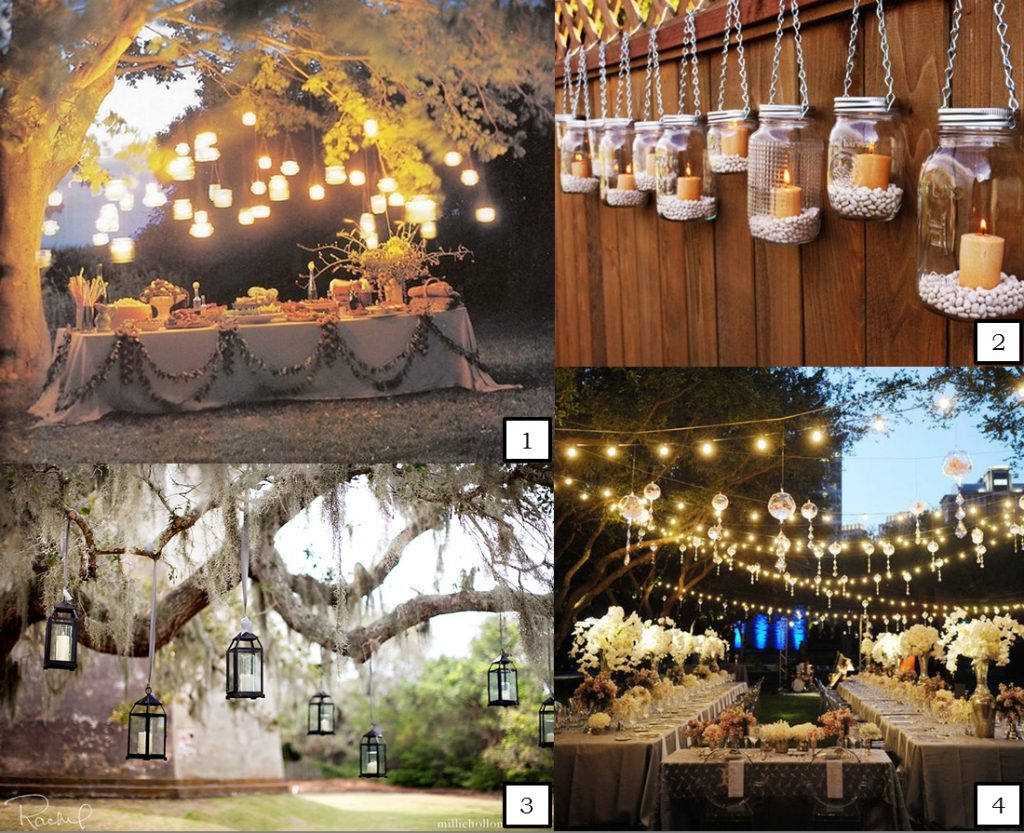 Abbey Road Weddings Hanging Wedding Lights