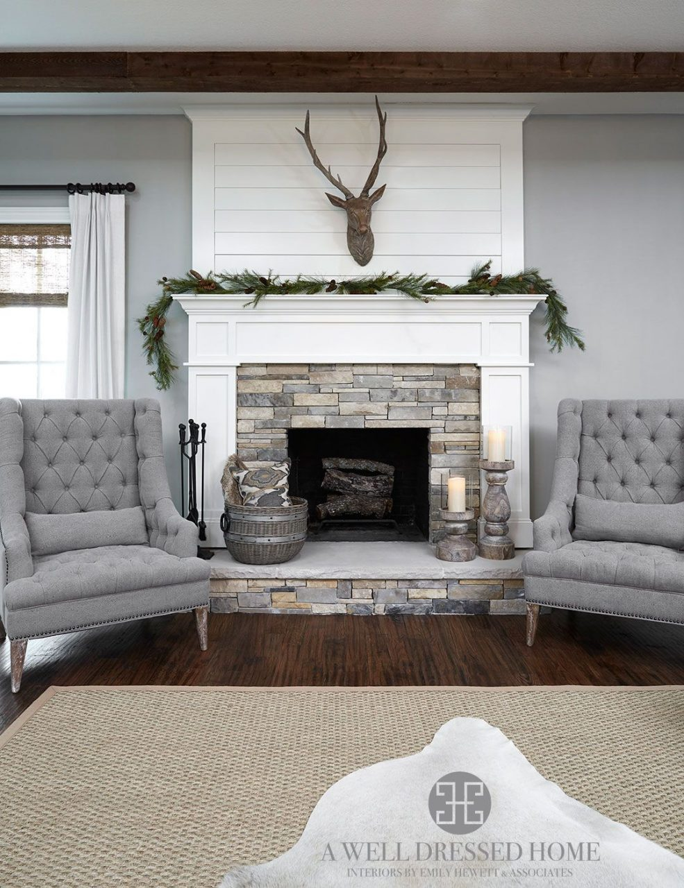Aledo Project Tv Room A Well Dressed Home Shiplap Fireplace
