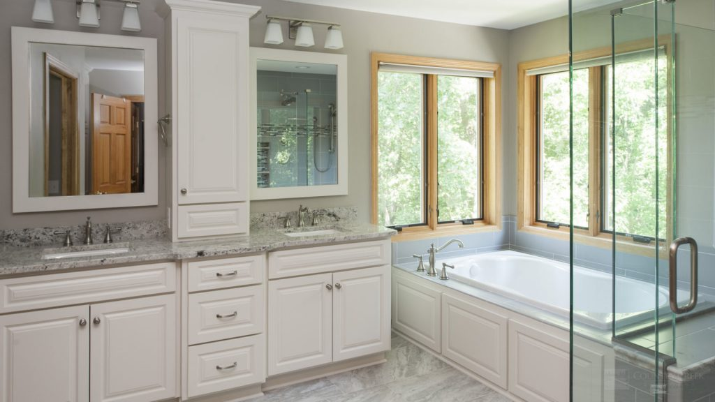 Amazing Apple Valley Master Bathroom Transformation Country Creek