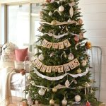 Farmhouse Christmas Tree Decorations
