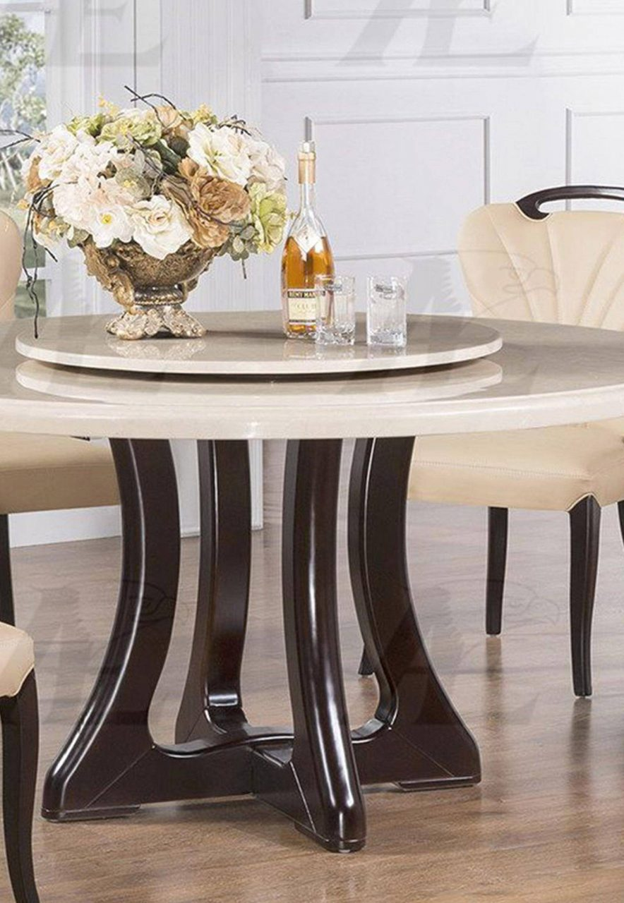 American Eagle Furniture Dt H222 Marble Top Round Dining Table Dt