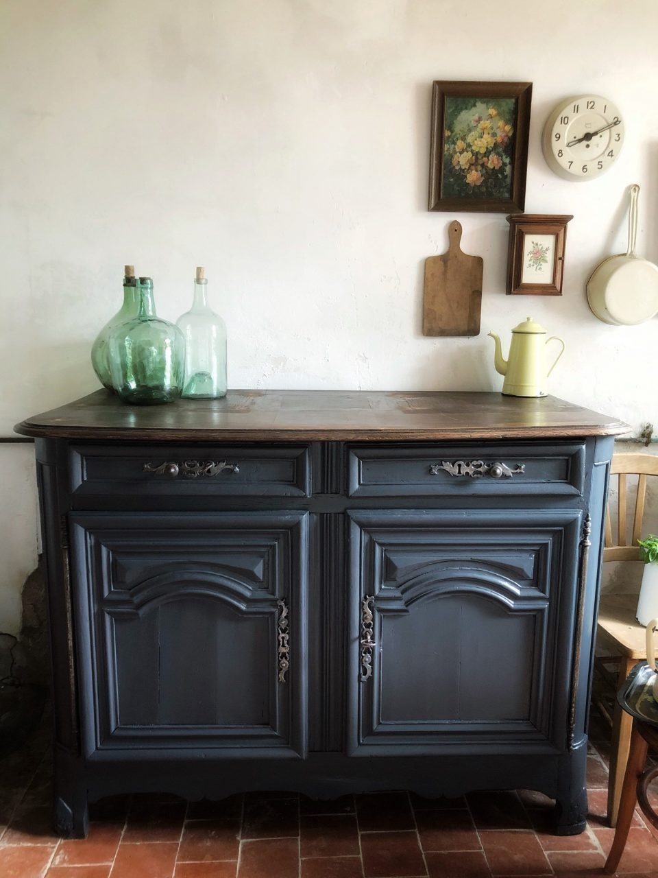 Antique French Sideboard Upcycled French Vintage Furniture