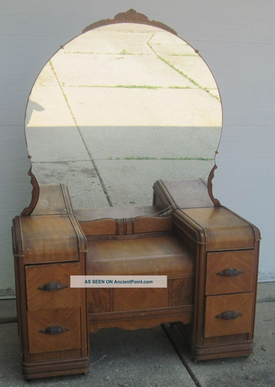 Antique Vanity Dressing Table 1900 1950 Photo Dressers Antique