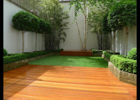 Bamboo Backyard Garden Ideas
