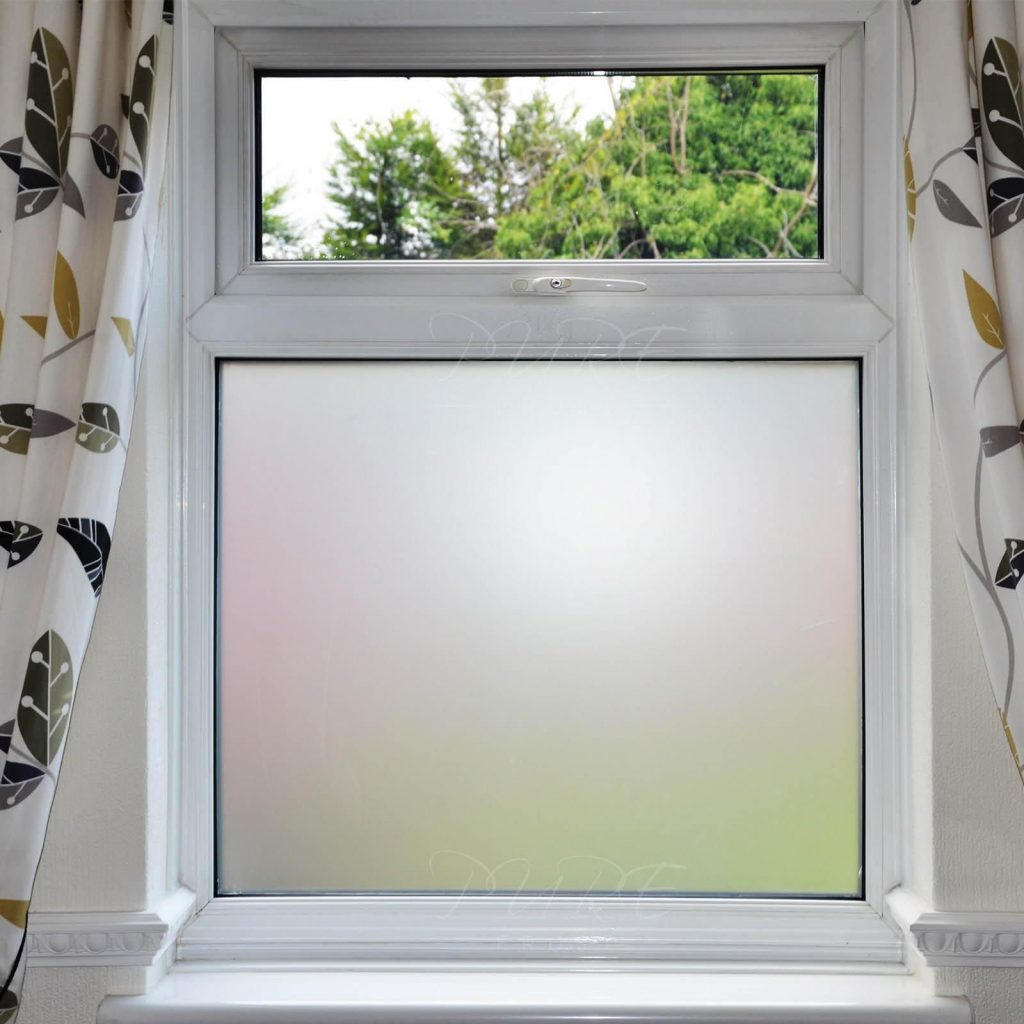 Bathroom Frosted Window Film Window Treatments Frosted Window
