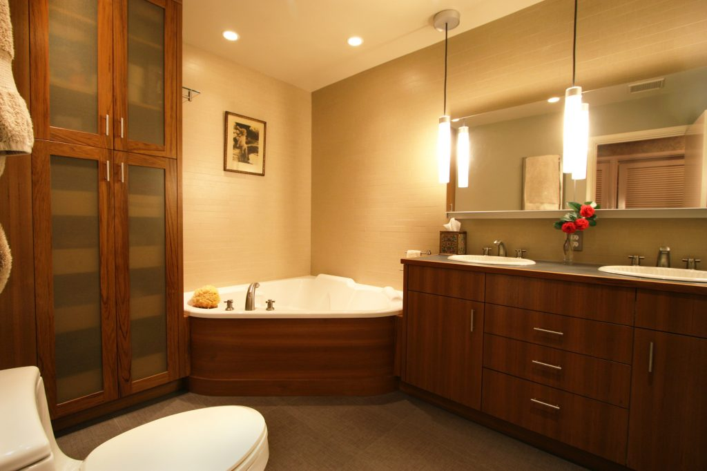 Bathroom Remodel In Koin Tower Condo Yields Beautiful Photos