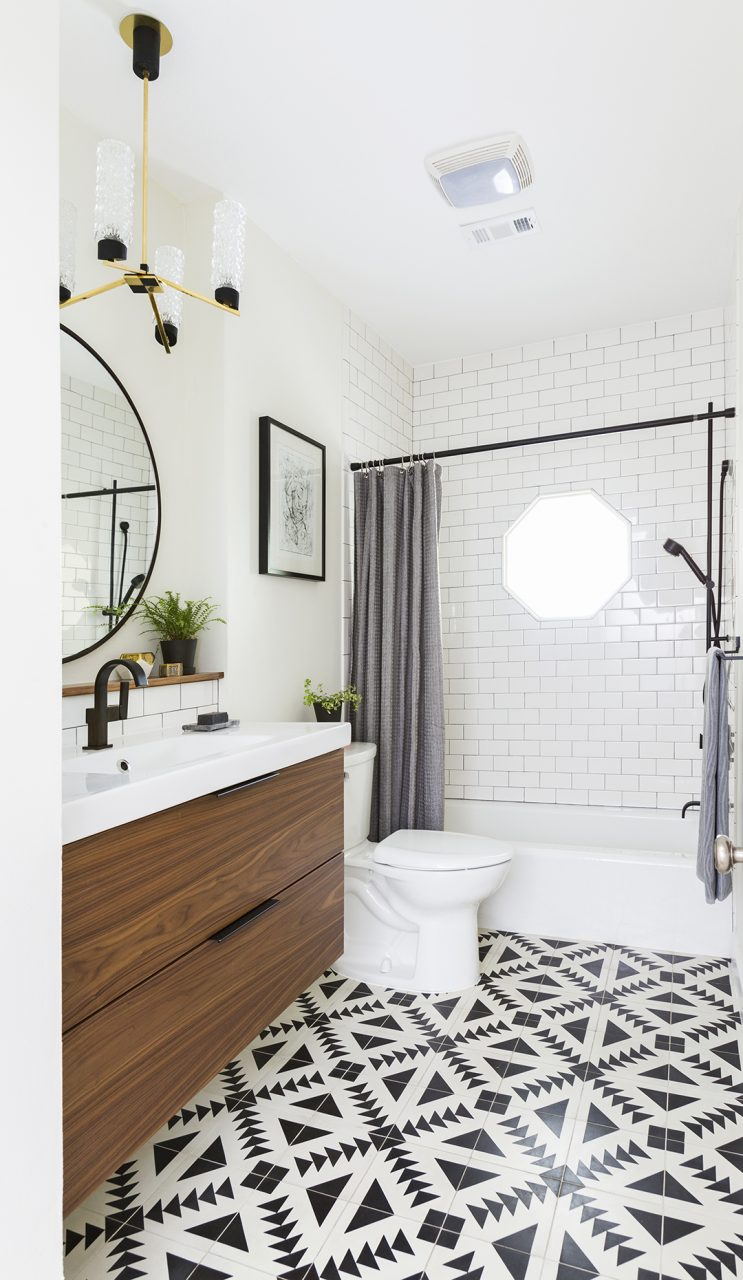 Beautiful Ways To Use Tile In Your Bathroom