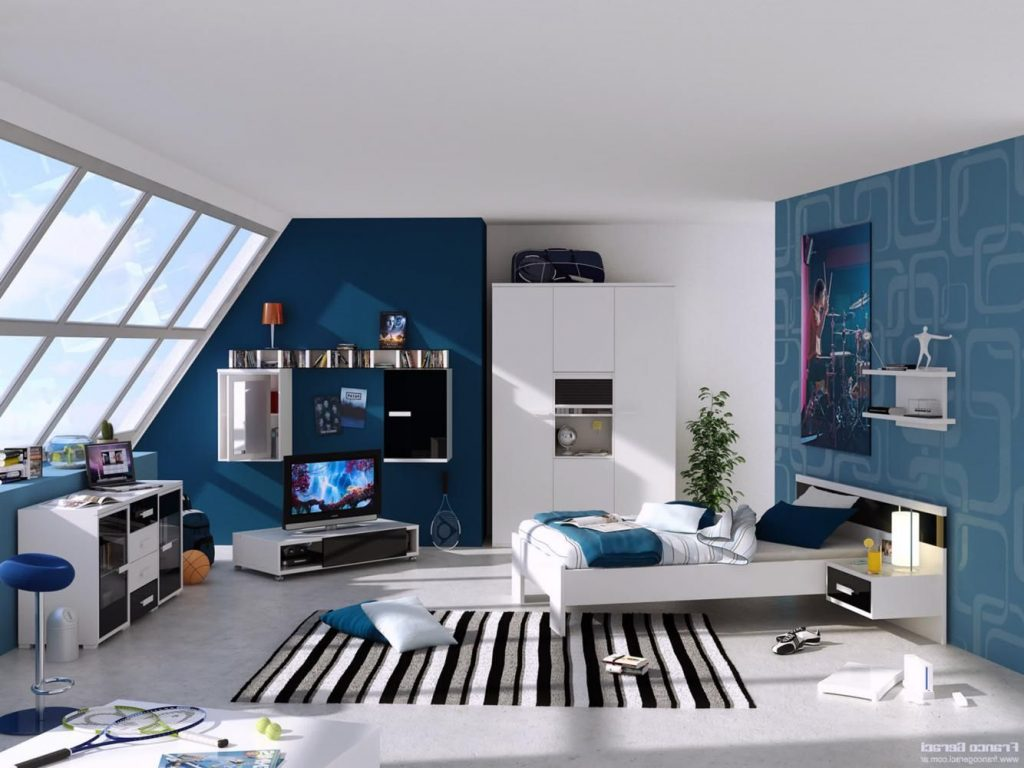 Bedroom Modern Boys Bedroom Beautiful On Inside How To Arrange The