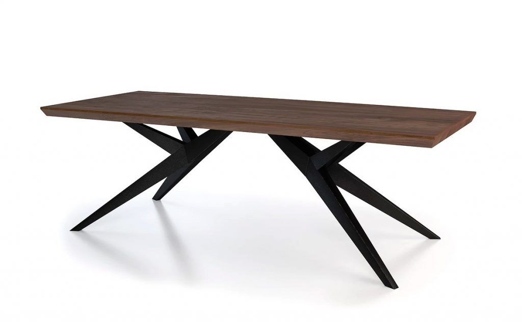 Benz Modern Rectangular Dining Table