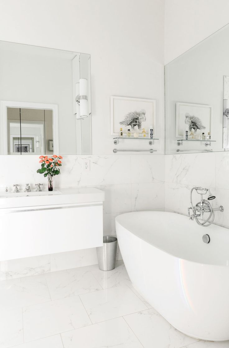 Best 25 White Bathroom Decor Ideas That You Will Like On Marble