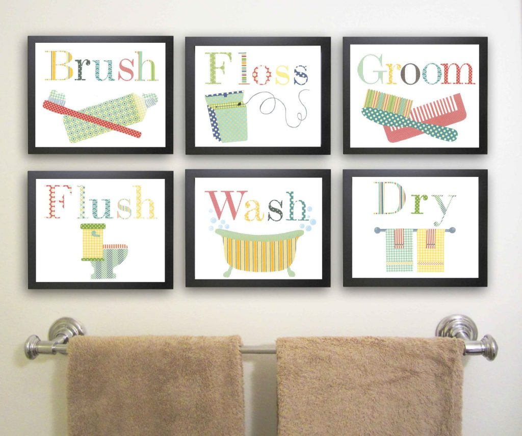 Best Kids Bathroom Wall Decor Awesome Kids Bathroom Wall Decor