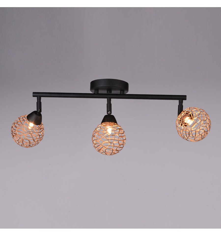 Black And Gold Kitchen Ceiling Light Houston Kosilightuk