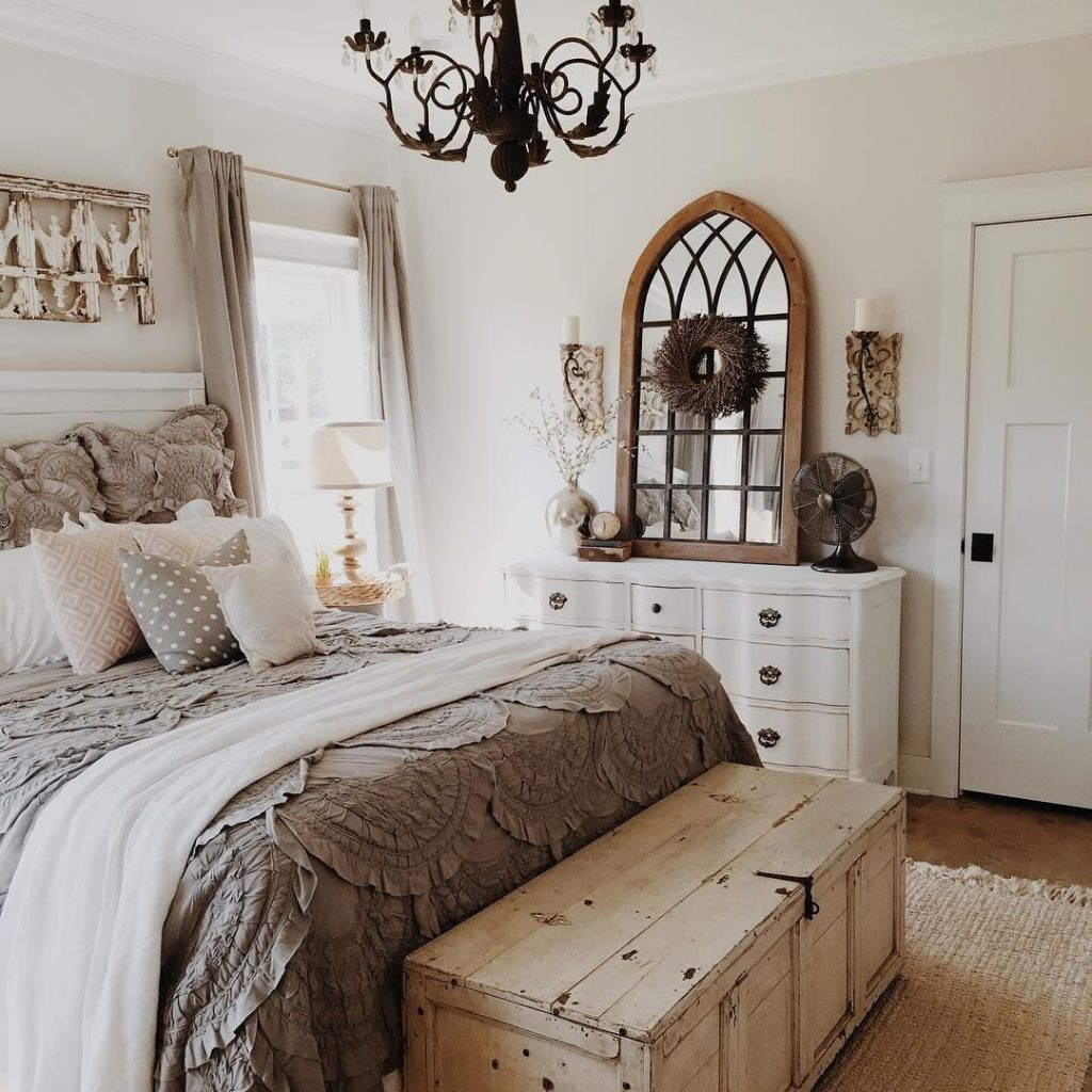 Blesser Farmhouse Friday Brittany York Master Bedroom