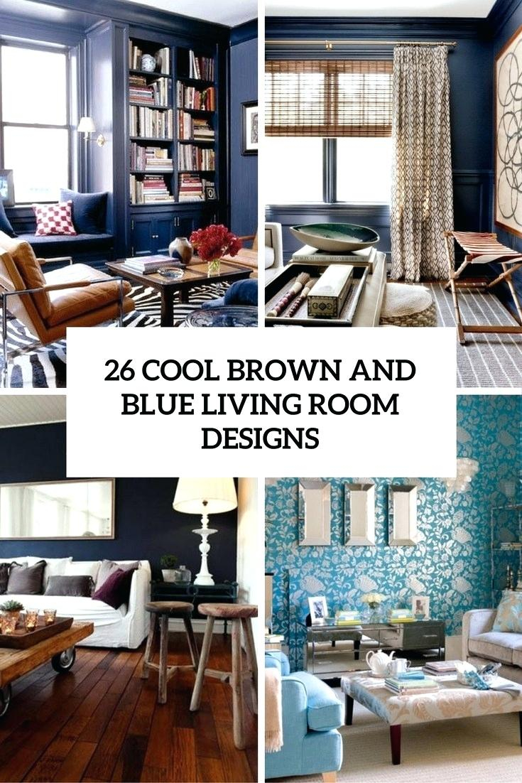 Blue And Brown Living Room Ideas Light Brown Living Room Brown