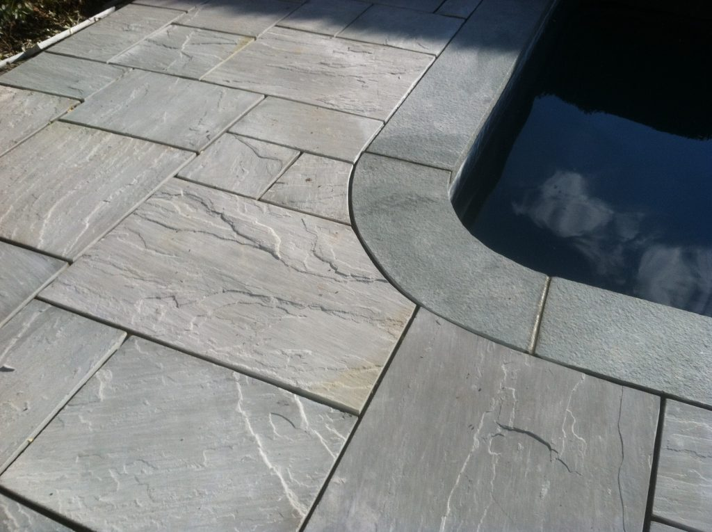 Blue Ice Bluestone Patio Replacement In Quogue Ny Patricks Pools