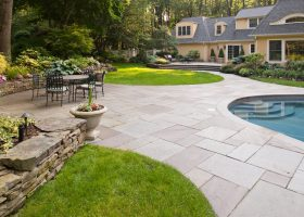 Bluestone Patio with Pool