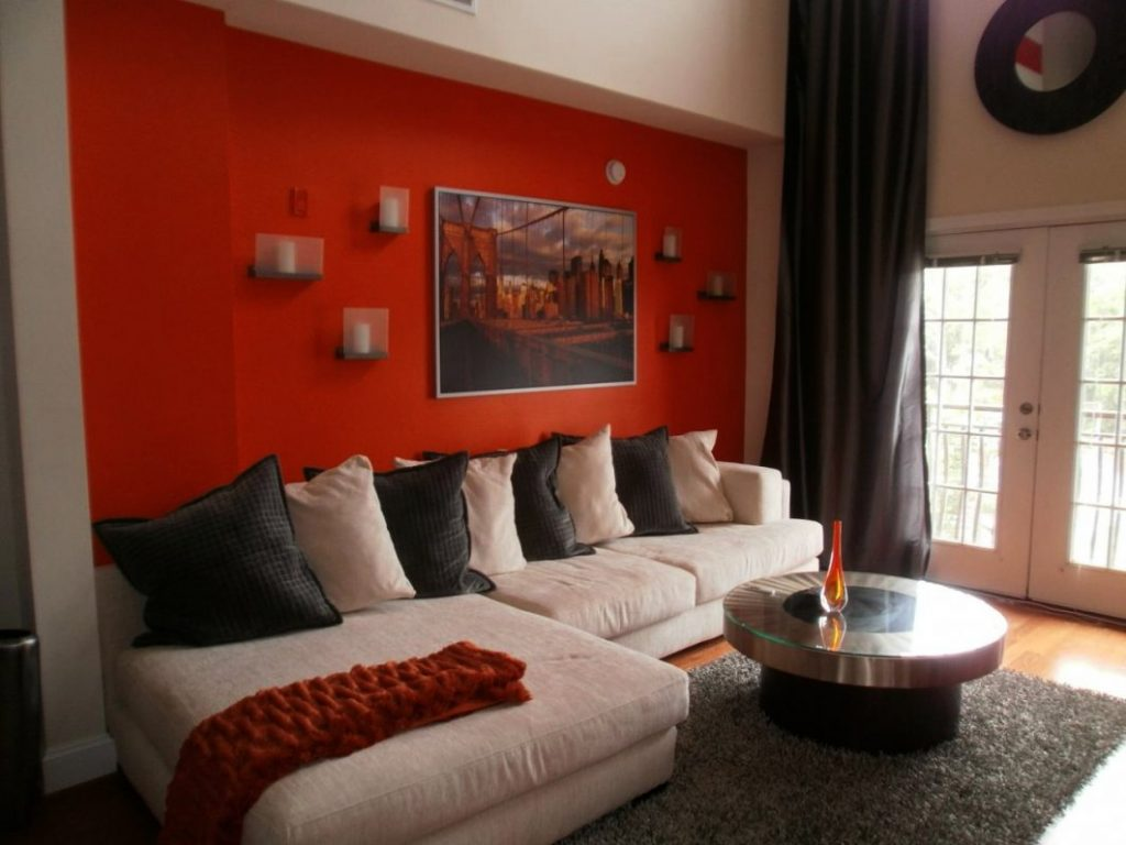 Burnt Orange Walls Living Room Nouvaliftcream