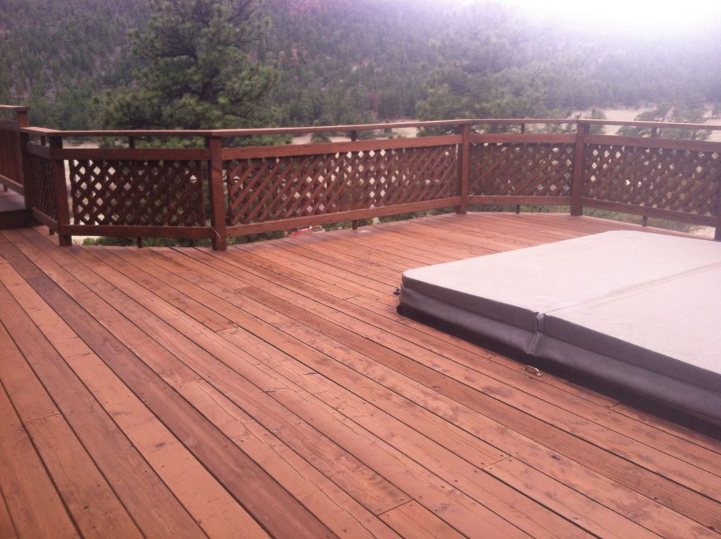 Cabot Deck Stain In Semi Solid New Redwood Best Deck Stains Deck