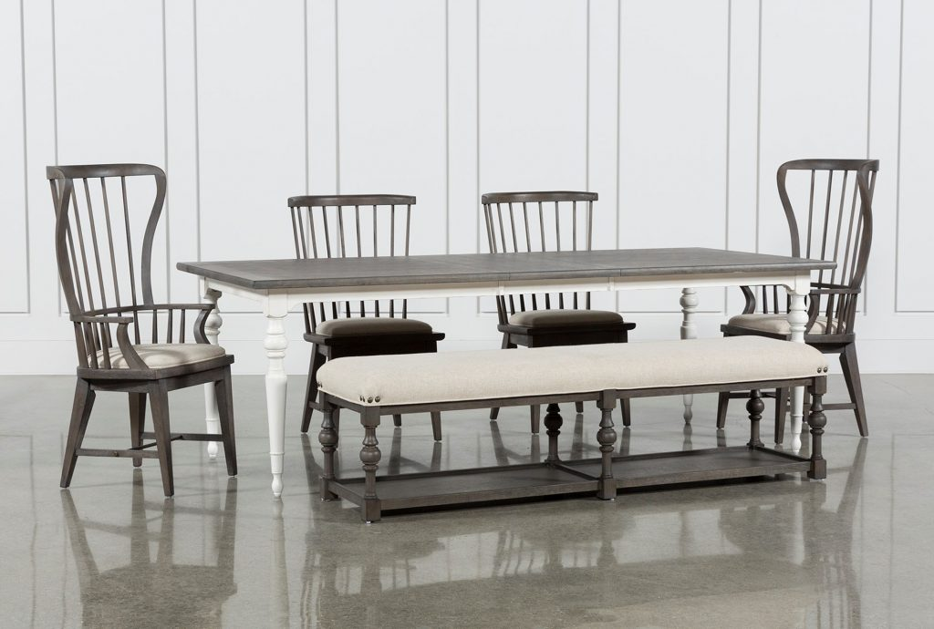 Candice Ii 6 Piece Extension Rectangle Dining Set In 2019 Items