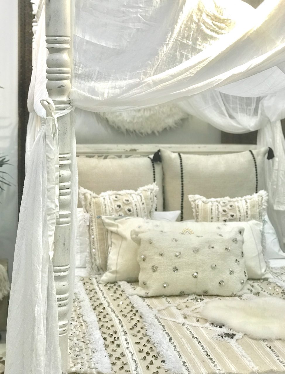 Canopy Bed Curtains Maison Maison