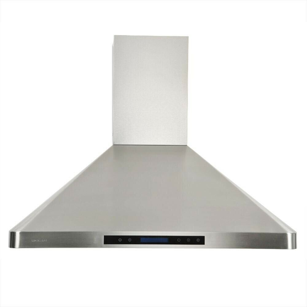 Cavaliere 36 In Wall Mount Round Ducted External Range Hood