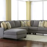 Chamberly Alloy Modern 4 Piece Sectional Sofa With Left Chaise