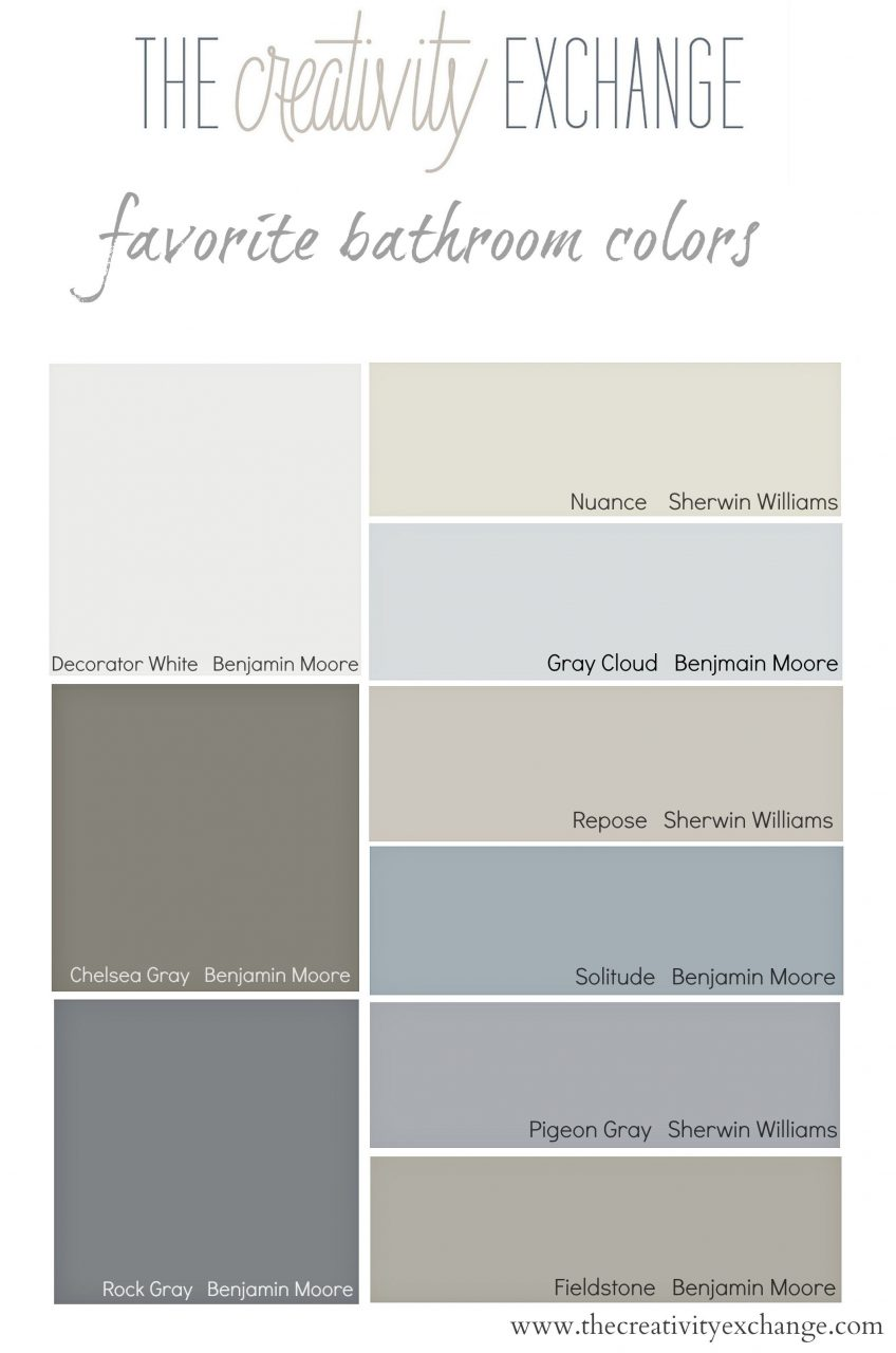 Choosing Bathroom Paint Colors For Walls And Cabinets Paint Colors