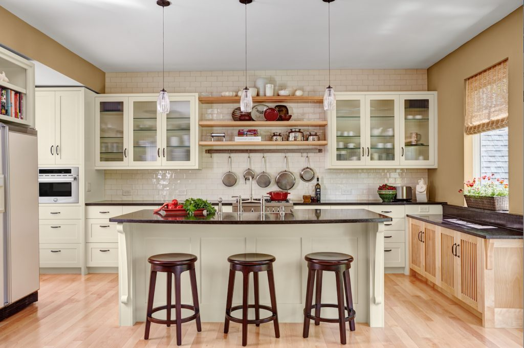 Clients Award Winning Dream Kitchen Features Dedicated Baking Center