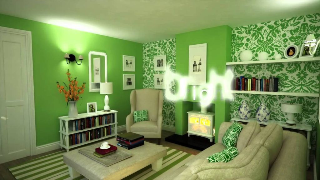 Colour Schemes Decorating With Green Youtube