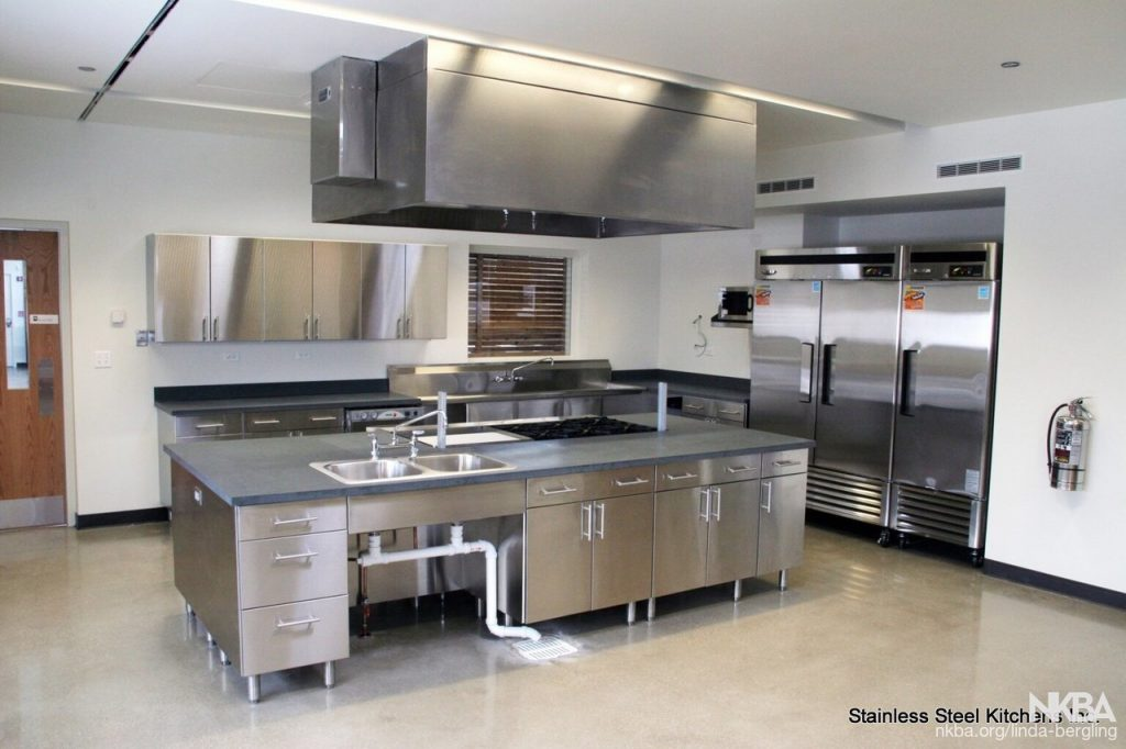 Commercial Stainless Steel Kitchen Nkba