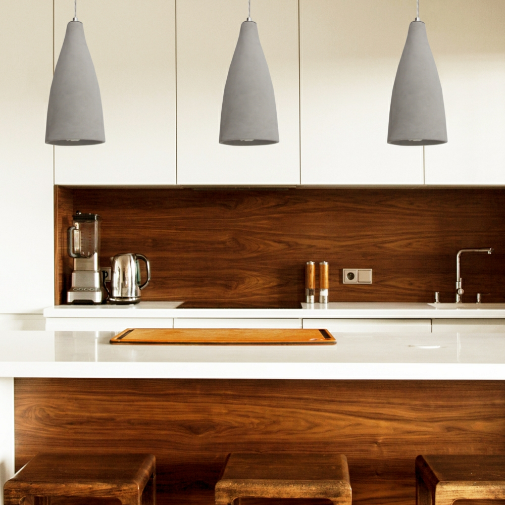 Concreto Led Kitchen Pendant Lighting