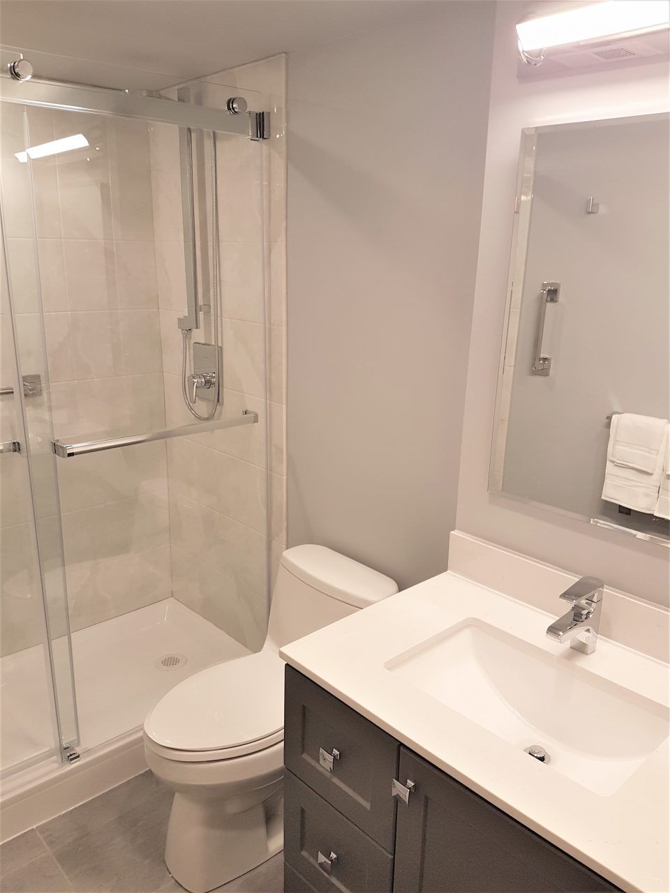 Condo Bathroom Renovation Lampert Renovations Toronto