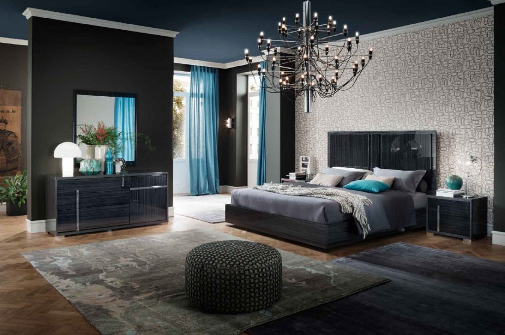 Contemporary Italian Minerva Bedroom Set Alf Italia Los Angeles