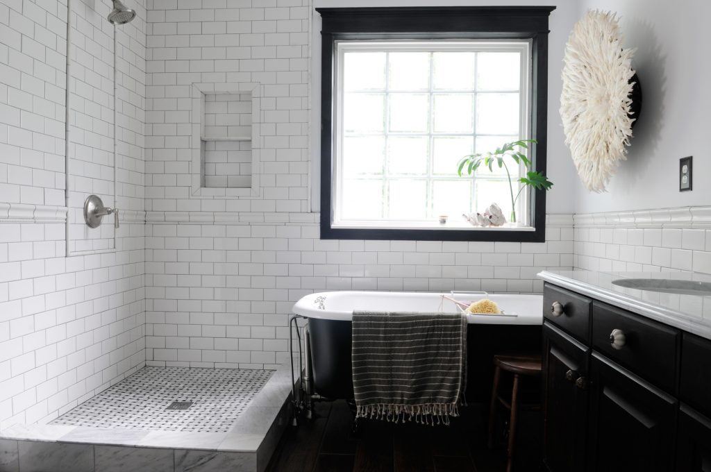 Cool Black And White Bathroom Design Ideas Tile Design Ideas