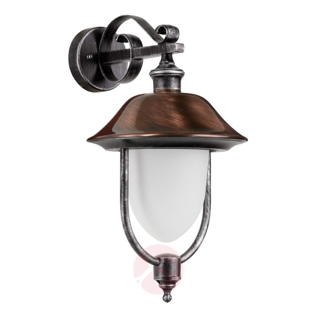Copper Outdoor Wall Light Peggy Hanging Lightsie