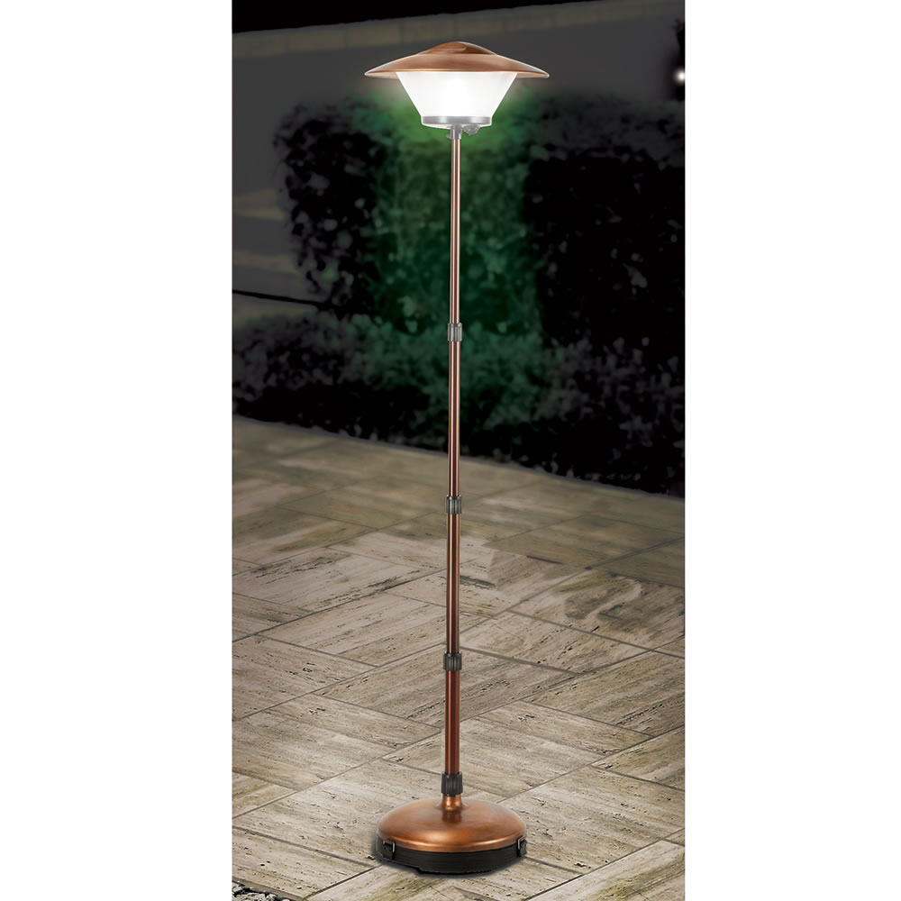 Cordless Patio Lamp Hammacher Schlemmer