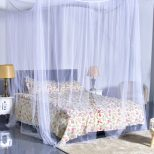 Costway 4 Corner Post Bed Canopy Mosquito Net Full Queen King Size