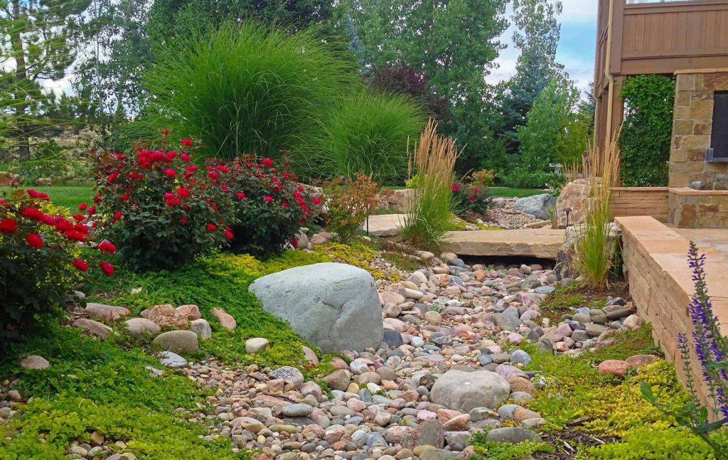 Create Dry Riverbed Landscape Ideas Landscape Design Dry