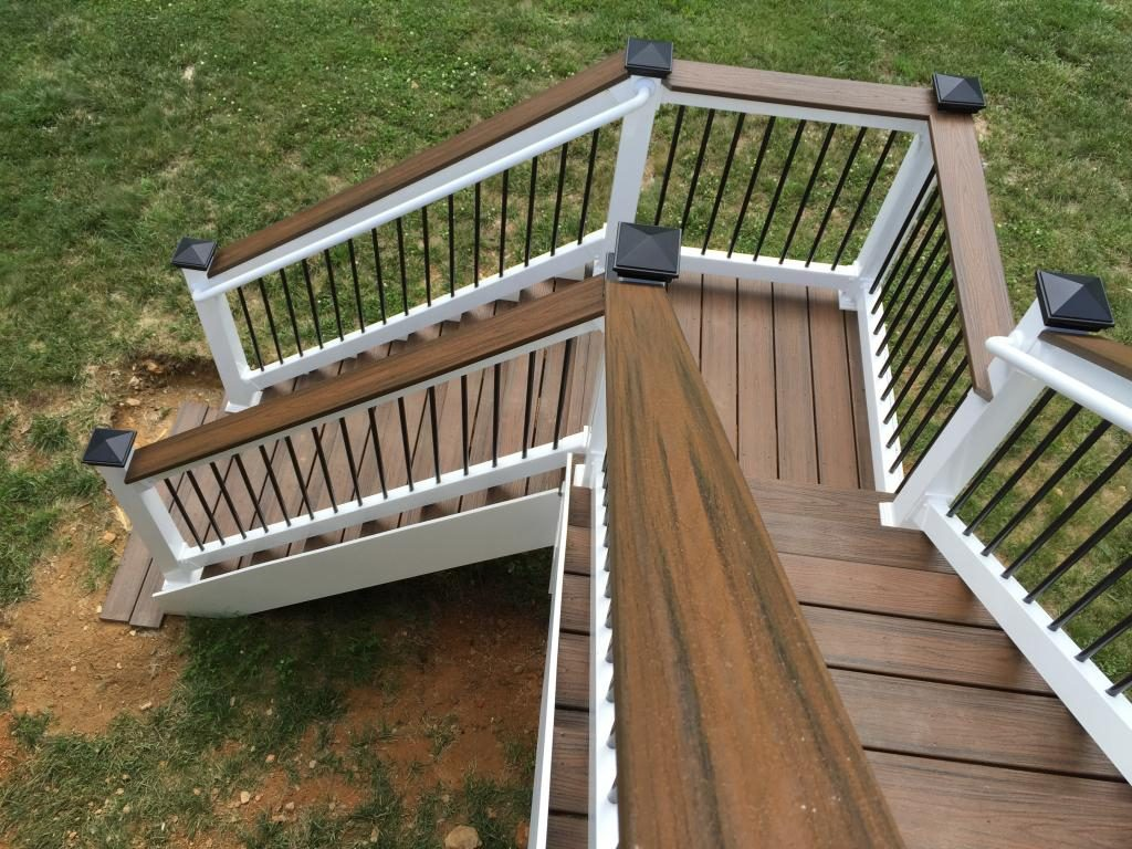 Deck Landing And Steps American Exteriors Masonry