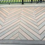 Deck With Chevron Pattern Arlenes In 2019 Deck Patterns Deck