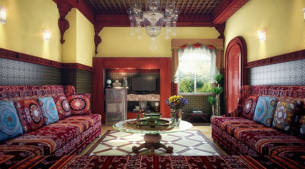 Deluxe Moroccan Living Rooms That Suit All Desires Photographs