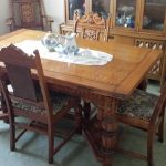 Antique Oak Dining Room Buffet