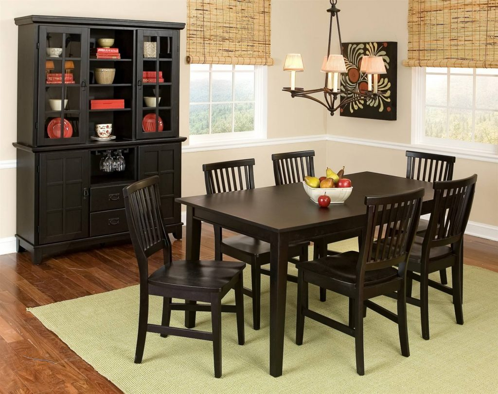 Dining Room Ashley Furniture Buffet With Hutch Also In Tables Chairs