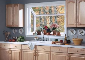 Casement Window Over Kitchen Sink
