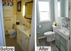 DIY Small Bathroom Renovation Ideas
